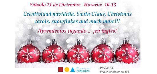Navidad en inglés en El Secreto de Pitágoras