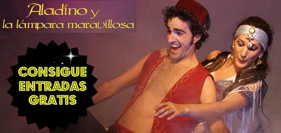 Consigue entradas para el musical de Aladino (Riojaforum)