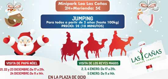 Parque infantil de Navidad en Las Cañas