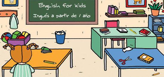 Taller gratuito de inglés para niños de 6 a 8 años