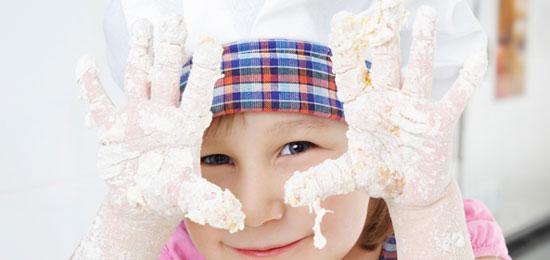 Taller de cocina divertida para niños