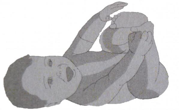 Baby shiatsu anterior