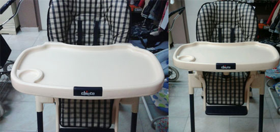 Se vende: trona Chicco plegable
