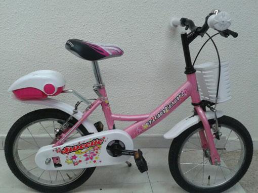 Se vende: bicicleta para niña