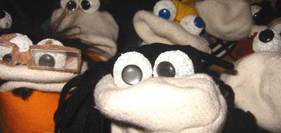 Taller de marionetas en Mi otro cole