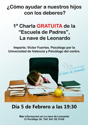 Charla-Escuela-padres La Nave de Leonardo