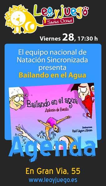 Bailando en el agua. Antonio de Benito