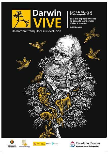 Exposicion Darwin vive Logroño