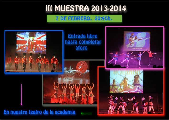 Muestra de bailes en Lopez Infante