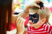 Pintacaras y maquillajes para niños: nunca antes de los 3 años