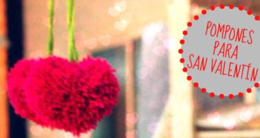 Pompones San Valentin