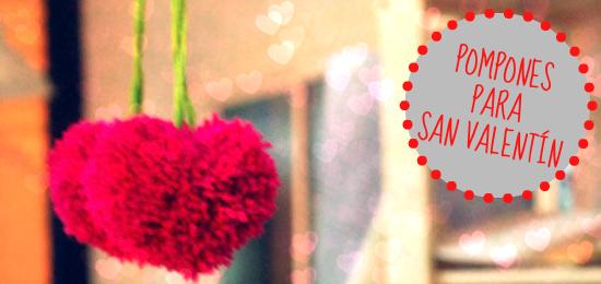 Cómo hacer un pompón para San Valentín