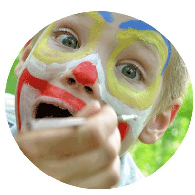 Maquillaje disfraz niños