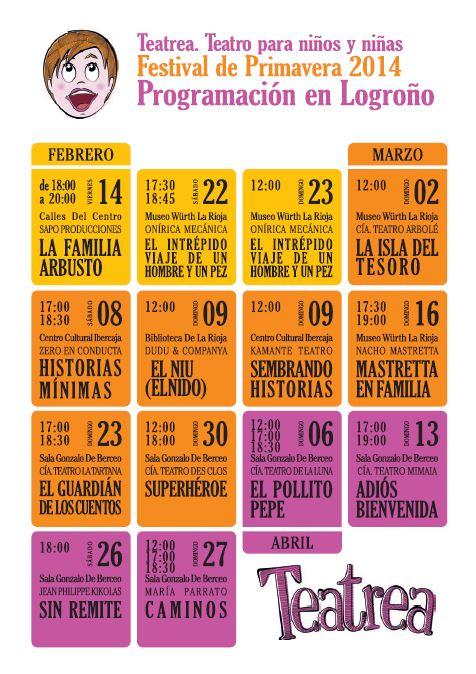 Teatrea Primavera en Logroño