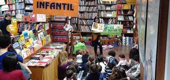Taller en Cerezo para celebrar el Día del Libro Infantil