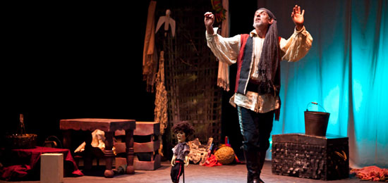 Teatro infantil en el Würth: La isla del tesoro