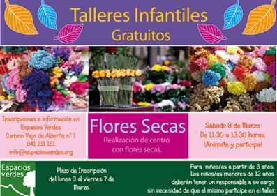 Aprende a elaborar centros de flores en espacios verdes - Espacios verdes logrono ...