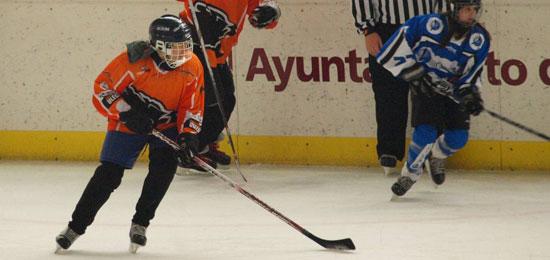 Festival infantil de Hockey Hielo, con entrada gratuita