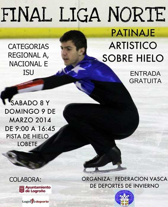 final liga norte patinaje hielo