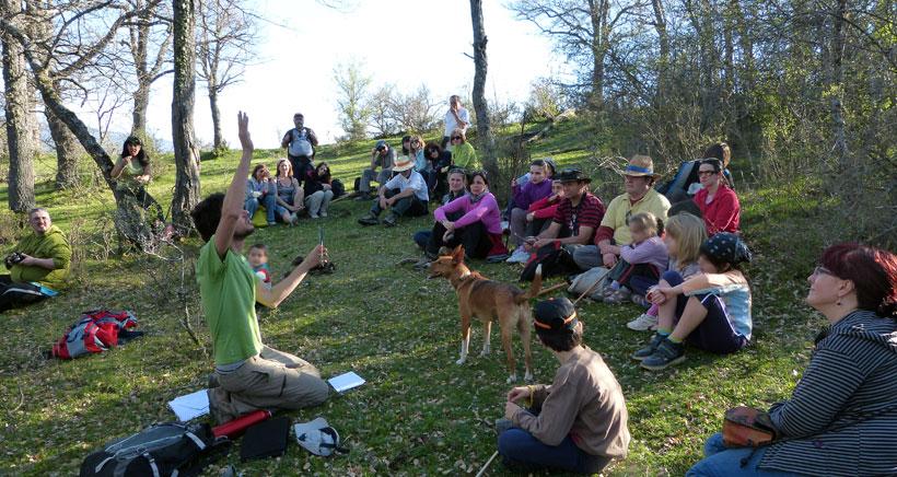 Día del árbol y el Medio Ambiente en San Román de Cameros