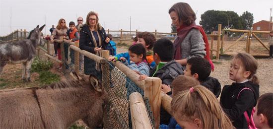 Visita la nueva granja de animales en La Grajera