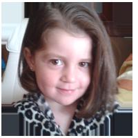Alba, 3 años