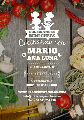Taller cocina Mario y Ana Luna
