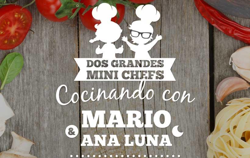 Cocina con Mario y Ana Luna, de Masterchef Junior