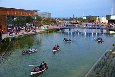 lago puerto venecia