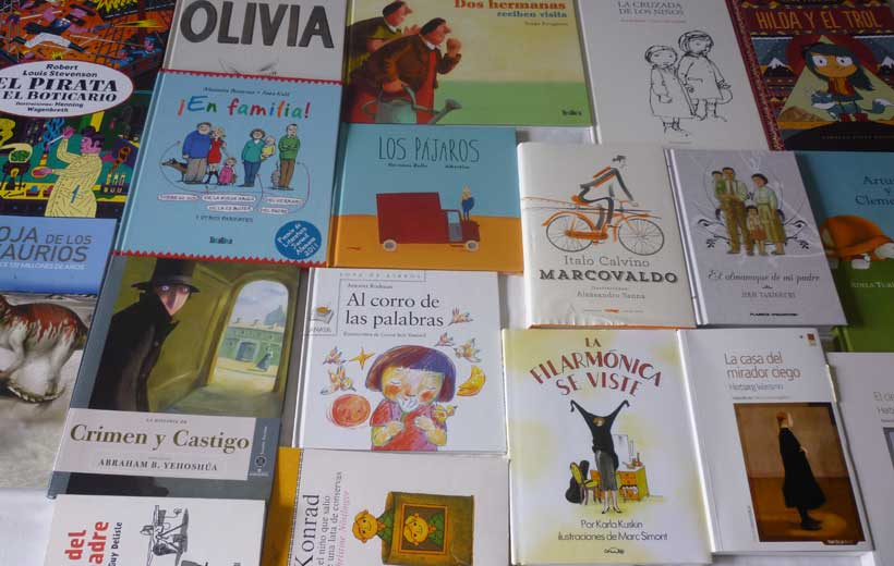 Charla sobre literatura infantil con La Casa de Tomasa