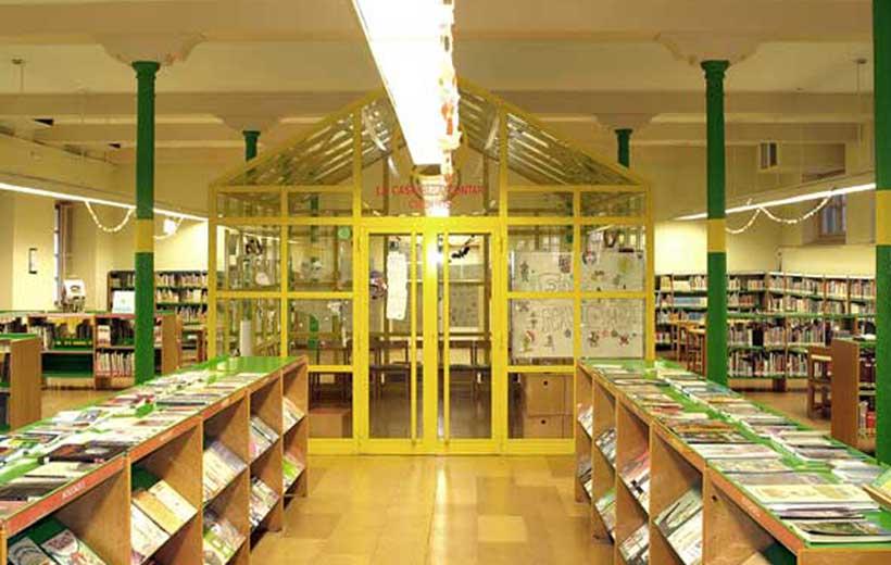Manualidades y cuentos en la Biblioteca