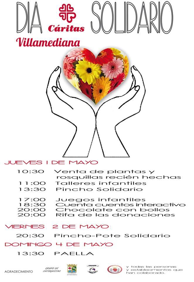 caritas solidaridad villamediana
