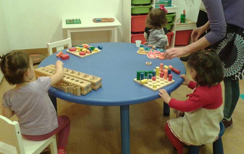 taller juegos montessori