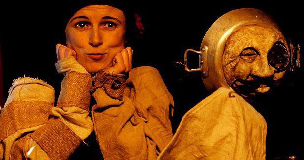 Espectáculo de títeres, en Teatrea