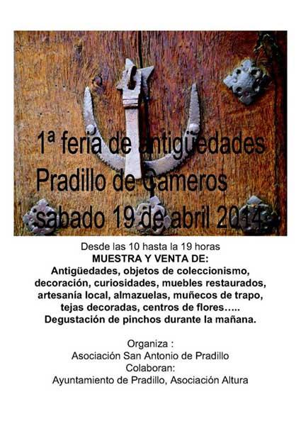 Feria antigüedades Pradillo