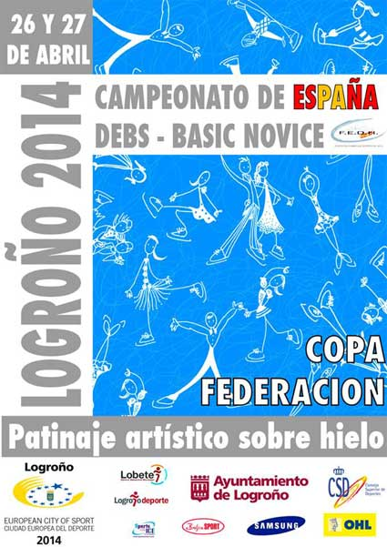 Campeonato patinaje artistico hielo Logroño