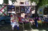 Feria de antigüedades en Pradillo