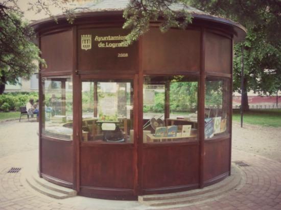 Punto de lectura del Parque del Carmen