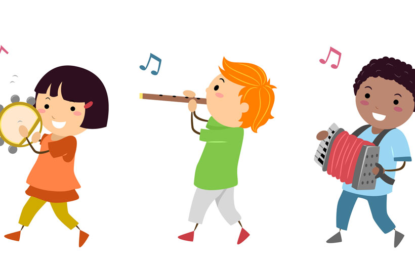 Ludoteca musical en academia Amadeus
