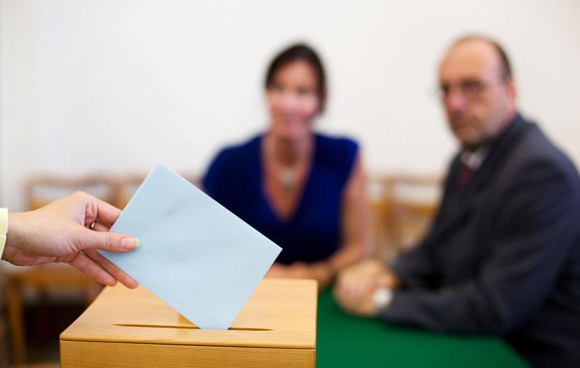 Listado de mesas electorales del 25 Mayo
