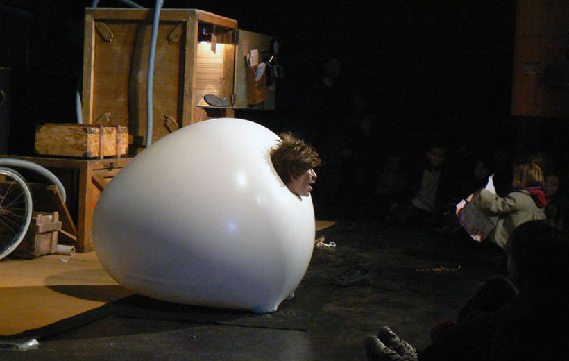 Circo, teatro y humor gestual en Teatrea
