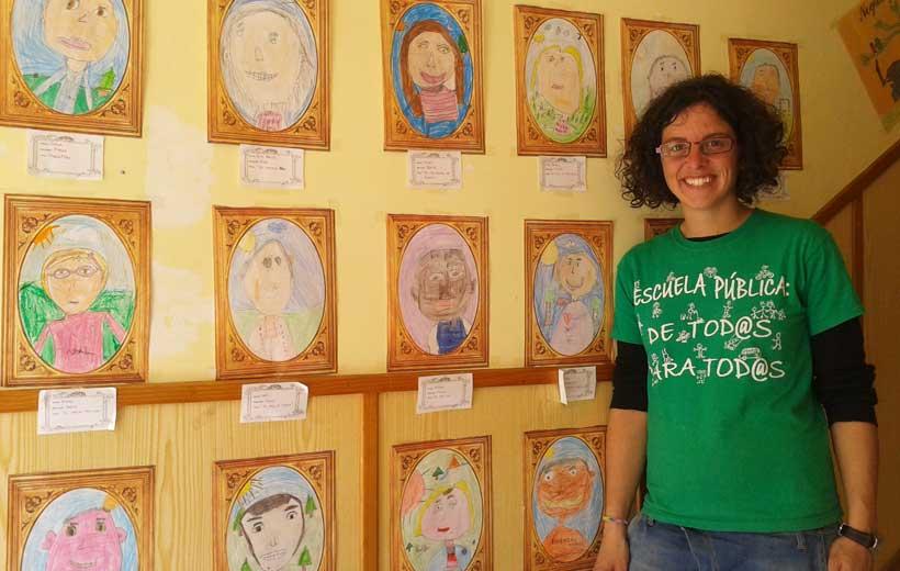 Maestra 2.0 desde Alesanco, Laura Marinas