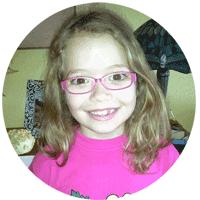 Claudia 8 años