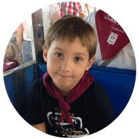 Dario 7 años