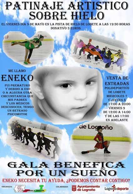 gala benefica patinaje a favor Eneko