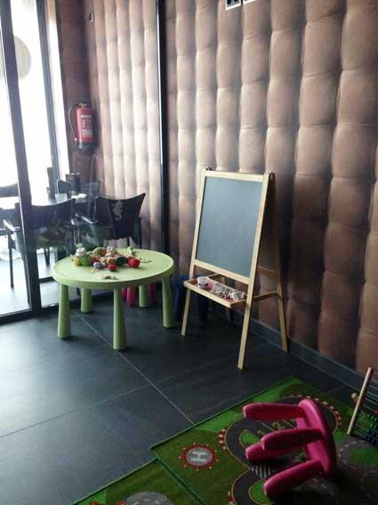 cafe boulevard niños bienvenidos en Logroño