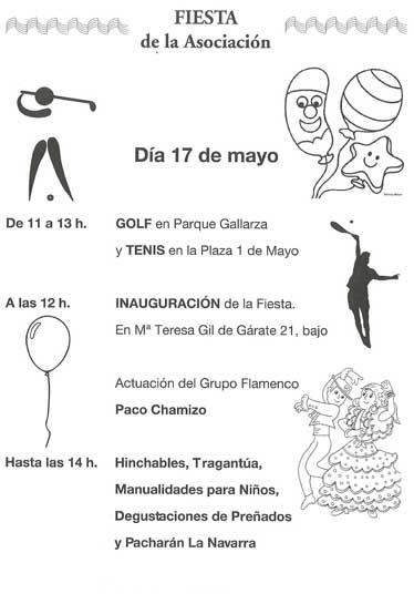Fiestas asociacion centro Logroño
