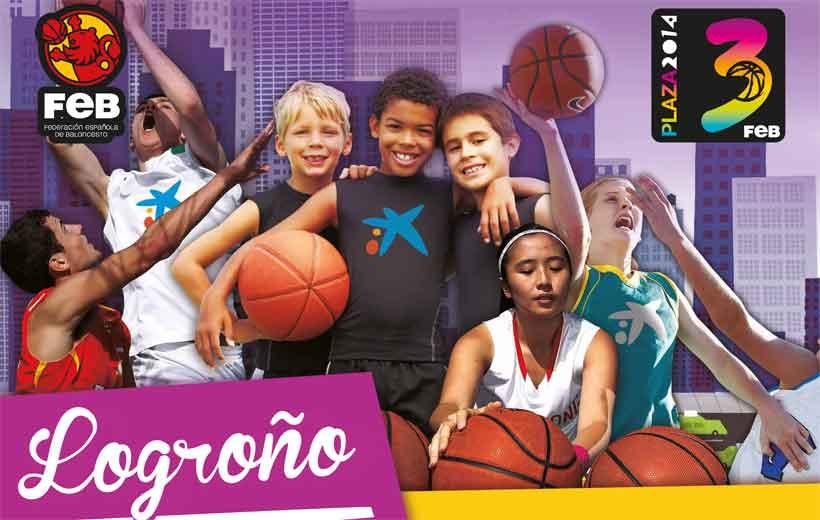 El baloncesto conquista Logroño