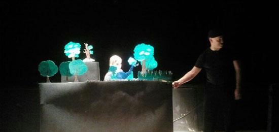 El jajile azul. Tripitaka Teatro