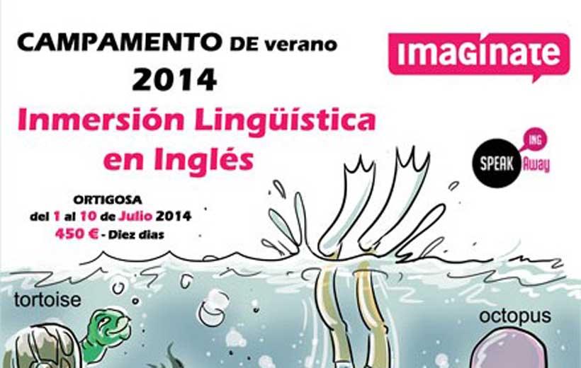 Campamento de inmersión lingüística en inglés